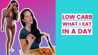 What I Eat In A Day (Low Carb + Intermittent Fasting)