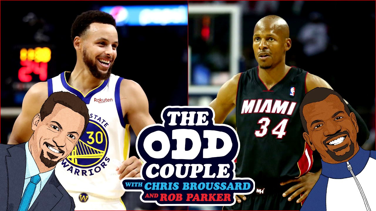 Chris Broussard & Rob Parker DEBATE The Great Shooter of All-Time - Steph Curry or Ray Allen