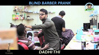 BLIND BARBER prank by Nadir ali 2018 | most 🤣😉funniest comedy prank |New Letest p4 pakao 👌