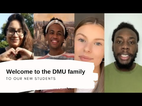Welcoming Our New Students To The DMU Family