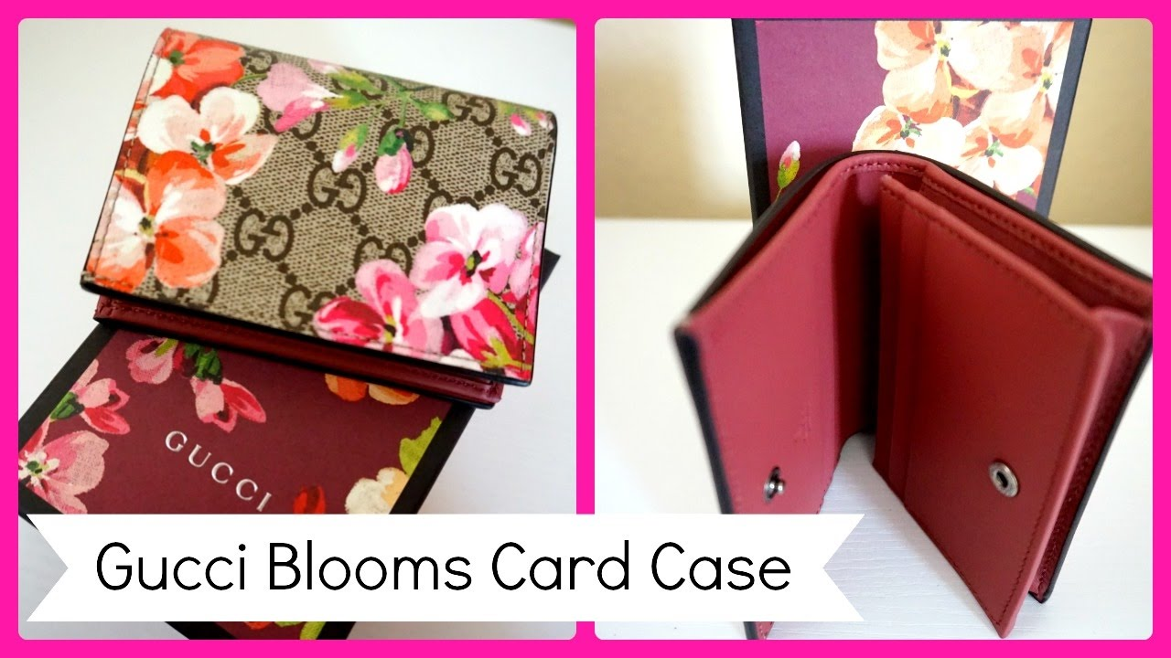 Gucci Blooms Card Case...and Henri Bendel - YouTube