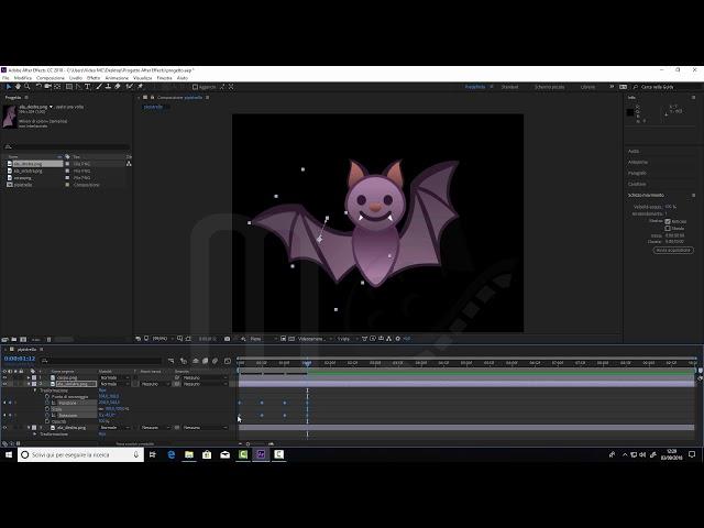 Adobe After Effects CC2018 - Creare animazioni complesse con le composizioni nidificate