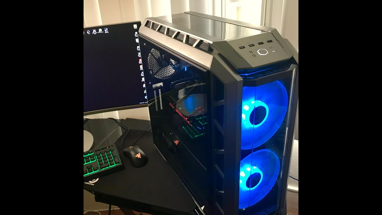 My First High End Gaming PC Intel i7 8700k + GTX 1080 ti