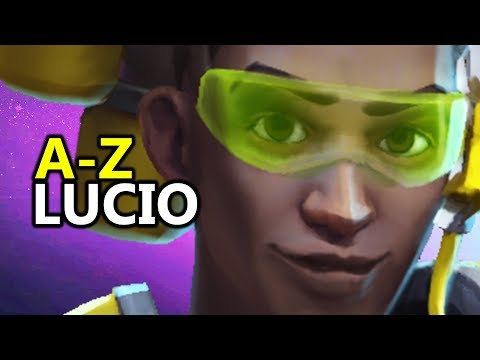♥ A - Z Lucio - Heroes of the Storm (HotS Gameplay)
