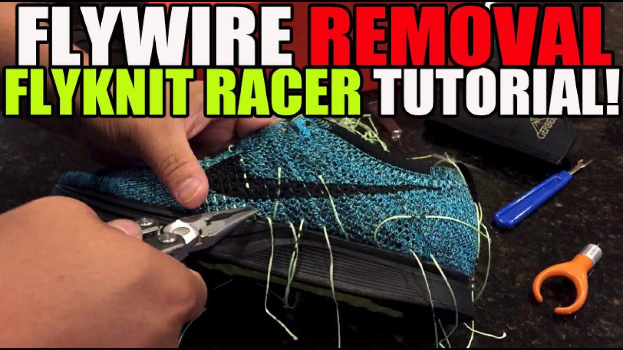 (Flyknit Racer Custom pt 2) - YouTube
