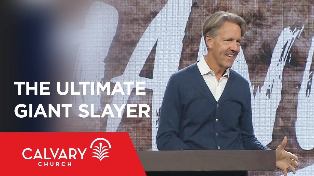 Download The Ultimate Giant Slayer - Hebrews 12:1-3 - Skip Heitzig