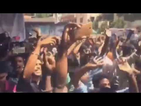 Crowd Pulling and Fans Celebration of...