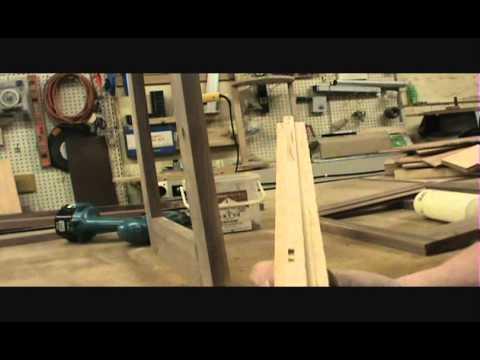 Walnut Curio Cabinet Build Part 1
