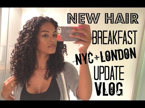 Breakfast + NEW HAIR COLOR + London Travel | SunKissAlba