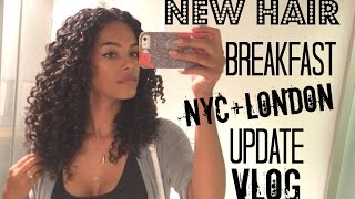 Raw Breakfast, NEW HAIR COLOR, Randomness & Update | SunKissAlba