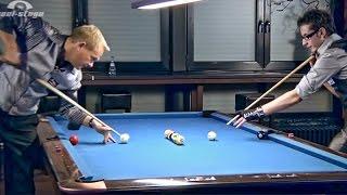 "Amazing Pool Trick Shots #2 by Ralph G. Eckert and Florian ""Venom"" Kohler!"