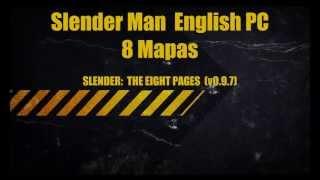 Slender Man 8 Maps Game PC Full Completo