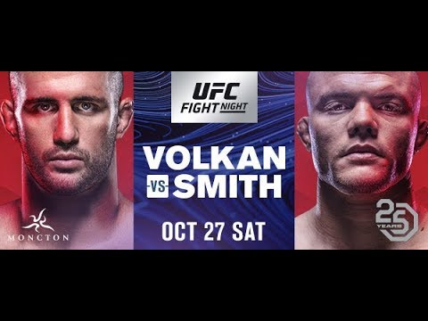 UFC Fight Night Moncton LIVE Prelims, Pre & Post-Show Sat. At 7 P.m. ET On FN Canada
