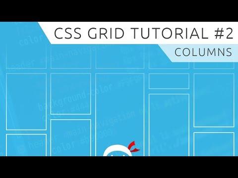 CSS Grid Tutorial #2 - Columns