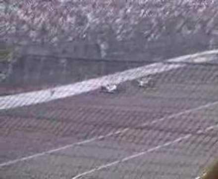 2007 Indy 500 Restart