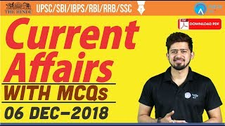 Download Video 6th DECEMBER 2018 |  The Hindu | Daily Current Affairs | Current Affairs |  Railways, Bank, SSC MP3 3GP MP4