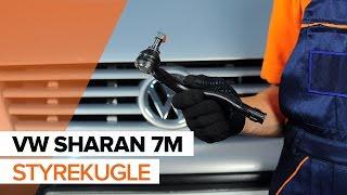 VW Sharan 7n brugermanual online