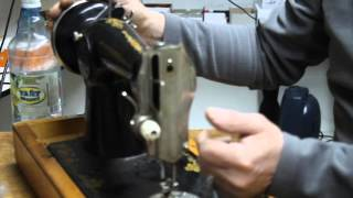Ремонт швейных машинок с Равилем  3 серия 004(Кто то любит рисовать,играть на гармошке,а я люблю ремонтировать швейные машинки. Когда вижу в глазах клиен..., 2015-11-03T02:11:33.000Z)