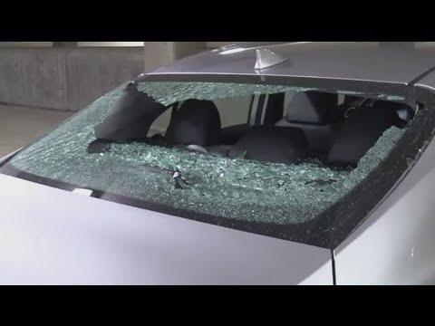 24 Vehicles Damaged By Rocks In Loop Parking Garage
