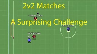 A Surprising Match! 2v2 Matches! Myball.io