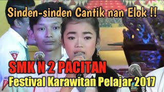 Video SMK N 2 Pacitan (Penyaji & Sinden Terbaik:festival karawitan tkt.SLTA se Kab.Pacitan, 12 Peb 2017) download MP3, 3GP, MP4, WEBM, AVI, FLV Juli 2018