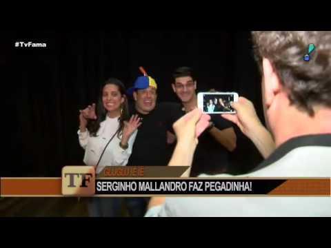 Sérgio Mallandro diz que pegadinhas o salvaram de situações constrangedoras - TV Fama 04/10/2016