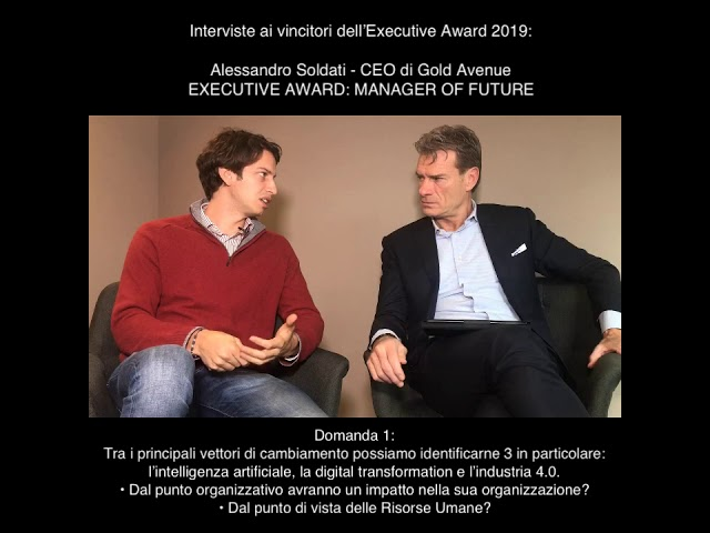 Alessandro Soldati (CEO di Gold Avenue SA) - EXECUTIVE AWARD: MANAGER OF FUTURE