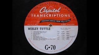 Phil Marx Steel Guitar w Wesley Tuttle's Band Transcription 1946