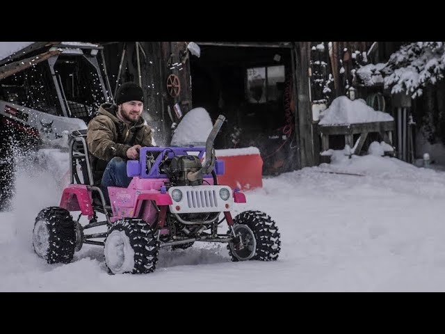 55 HP Princess Jeep First Drive