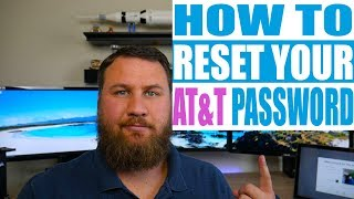 How to Reset Your AT&T Email Account Password