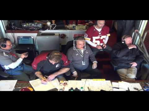 Redskins Radio Booth LIVE vs Saints