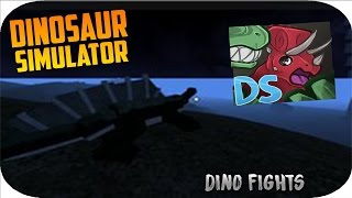 Roblox Dinosaur Simulator Sarco vs Domitor T Rex