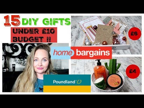 POUNDLAND CHRISTMAS HACKS / DIY BUDGET GIFT IDEAS / HOME BARGAINS AFFORDABLE GIFTS