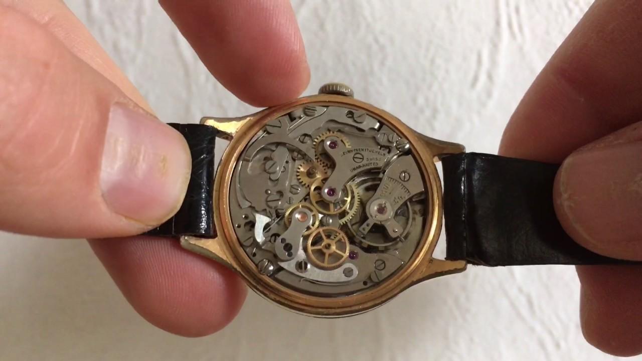 How does work chronograph Landeron 48