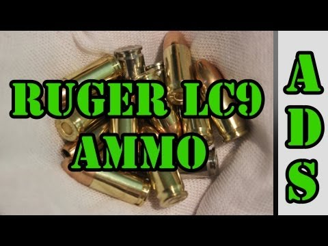 Ruger LC9 Recommended Ammo