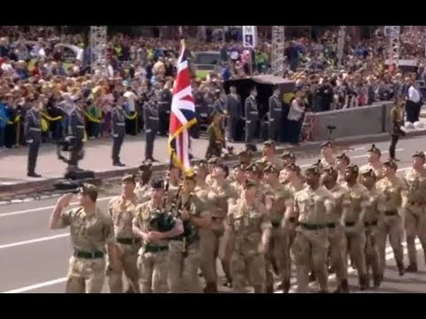 NATO troops parading in Kyiv. Another sign that Russia has lost Ukraine forever.