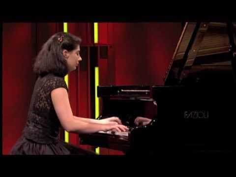 Nino Gvetadze plays Gounod - Liszt,   Faust Waltz