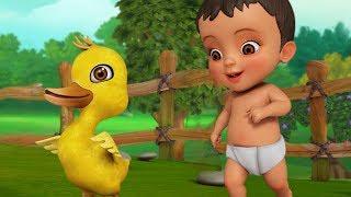 குவா குவா வாத்து | Tamil Rhymes for Children | Infobells