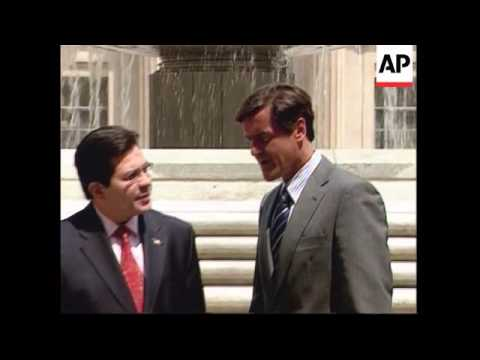 Spanish justice minister meets US attorney general