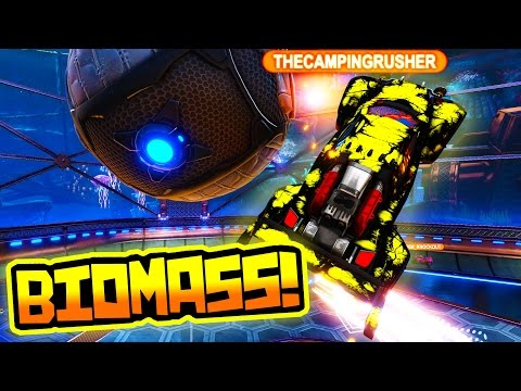 I GOT THE NEW BIOMASS MYSTERY DECAL IN ROCKET LEAGUE!!