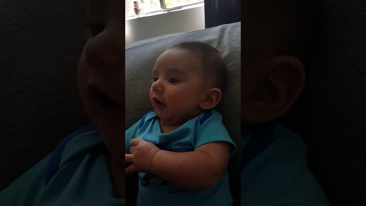 3 Month Old Saying I Love You Youtube