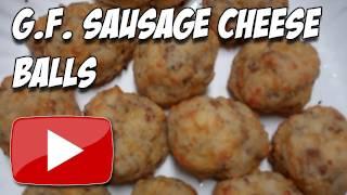 Gluten Free Sausage Cheese Balls