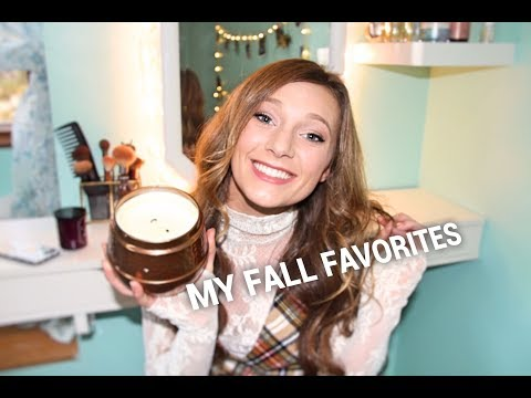 MY FALL FAVORITES// new clothes & home goodies