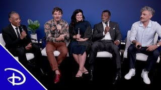 The Stars of Star Wars at D23 EXPO | Disney