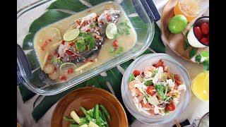 【第60集】一鍋煮出泰式檸檬魚+泰式涼拌海鮮(加碼做泰式料理一定必備的泰式萬用調味醬)