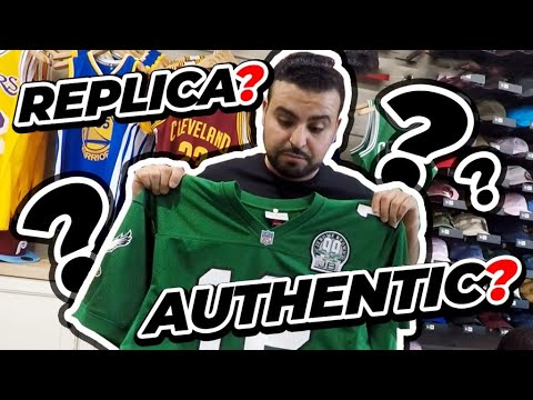 Mitchell And Ness Replica NFL Jersey Vs Authentic NFL Jersey Comparison