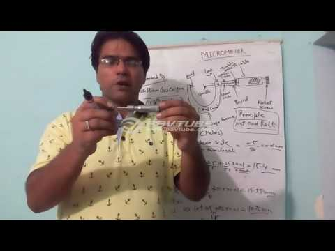 Lecture on Micrometer [in Hindi]