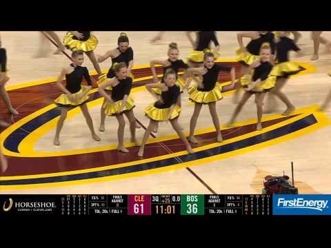 Dancer By Gina Cavs halftime 2015