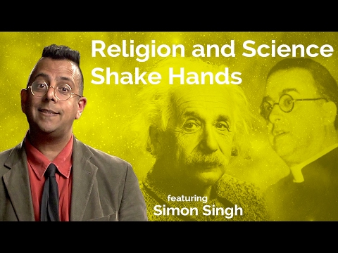 Simon Singh: Religion and Science Shake Hands