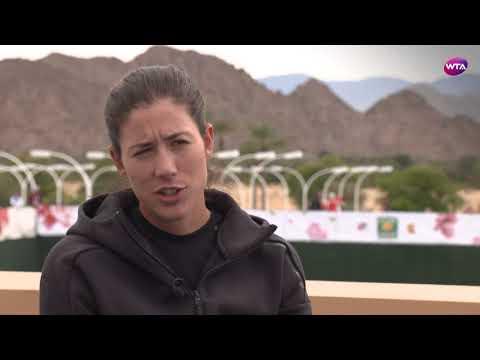 2018 Indian Wells Open Pre-Tournament Interview | Garbiñe Muguruza